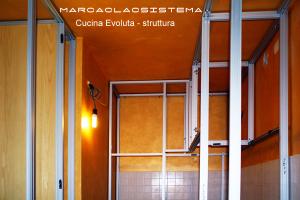 struttura pensili cucina Marcaclacsistema