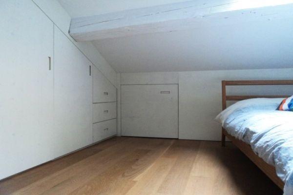 armadio mansarda senza formaldeide