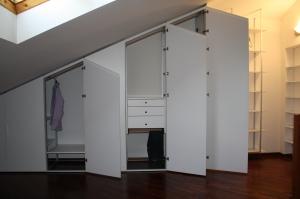 armadio da mansarda