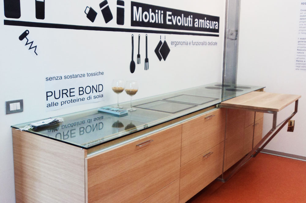 Marcaclac mobili evoluti cucine con piano di lavoro for Piano lavoro cucina