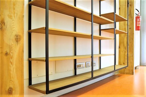 Libreria in Teak, Leggera Marcaclac