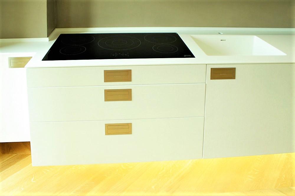 accurata scelta dei materiali nelle cucine su misura evolute