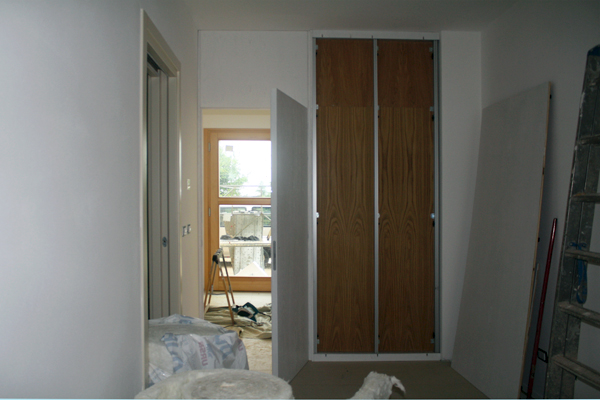 Interparete interna con porta