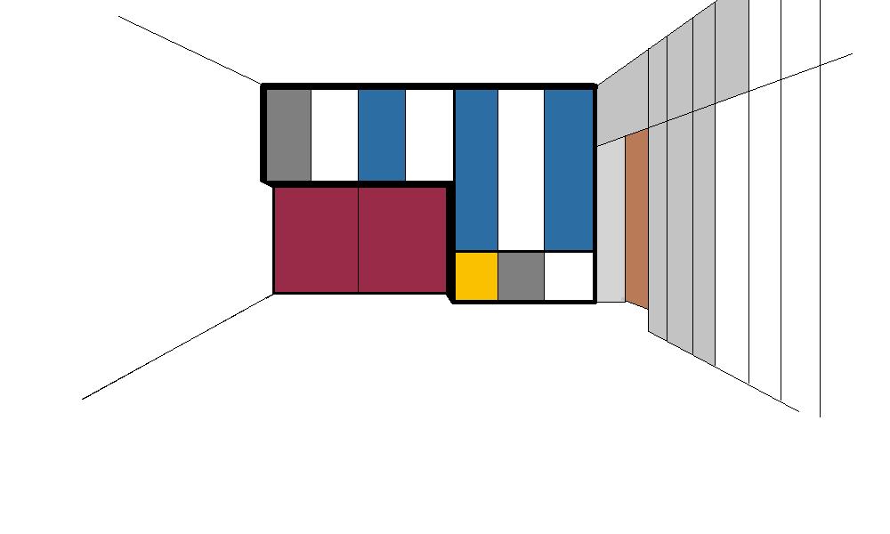 Armadio per Mario - Prova colore 2