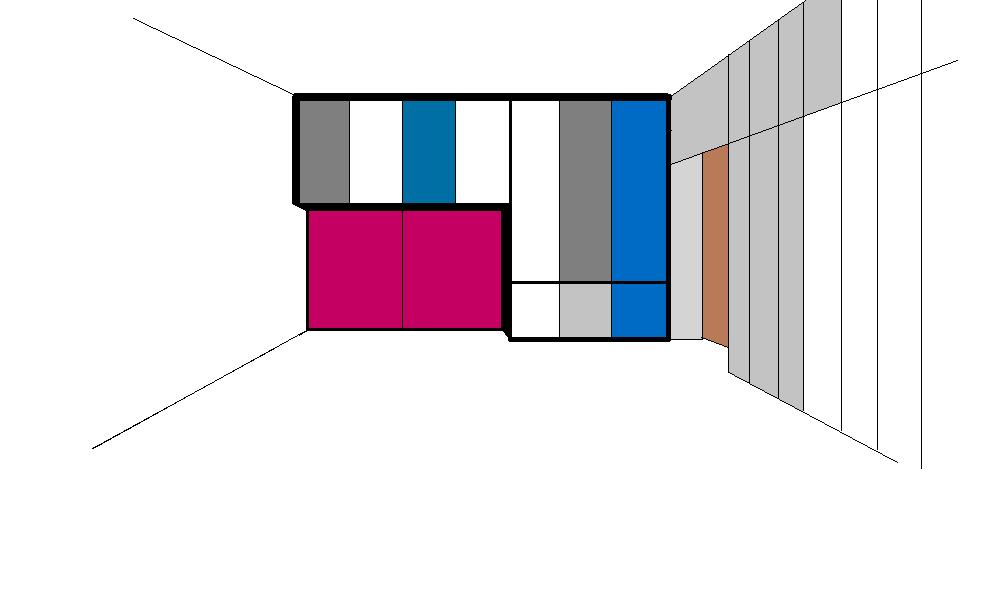 Armadio per Mario - Prova colore 3