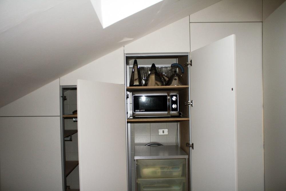 Marcaclac mobili evoluti armadio parete armadio cucina for Cucina in armadio
