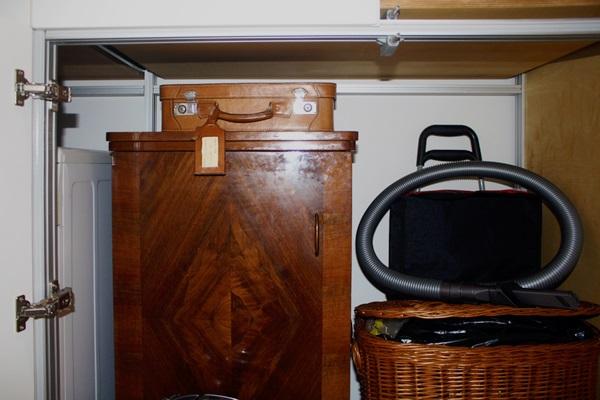 Marcaclac mobili evoluti armadio su misura lavanderia a scomparsa in antibagno marcaclac - Mobili lavanderia su misura ...