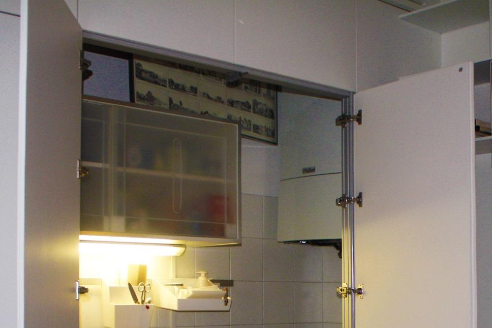 Marcaclac mobili evoluti armadio parete armadio cucina - Armadio dispensa cucina ...