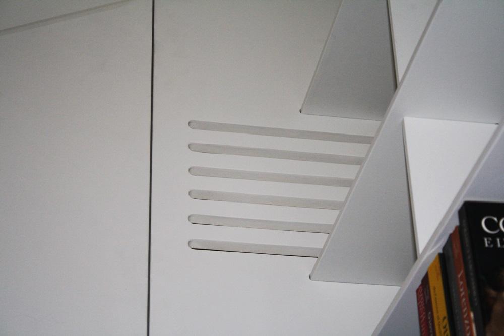 armadio marcaclac, griglie di areazione