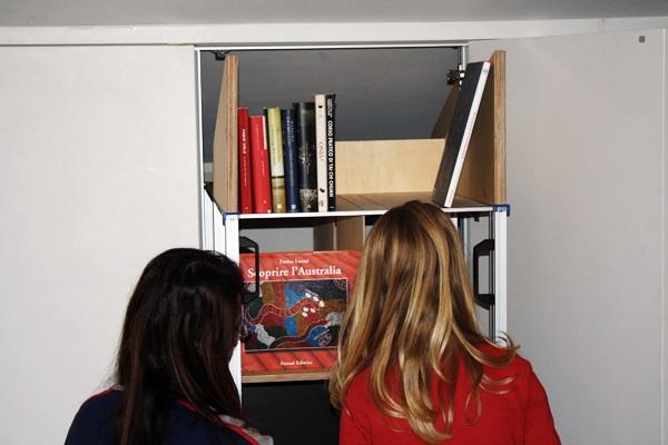 Libreria Armadio mobile grande profondità