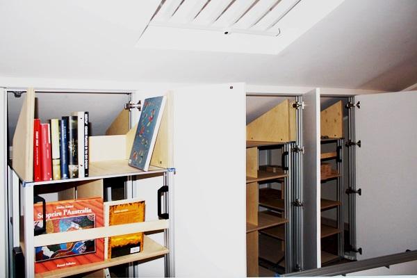 Libreria per Mansarda Marcaclac