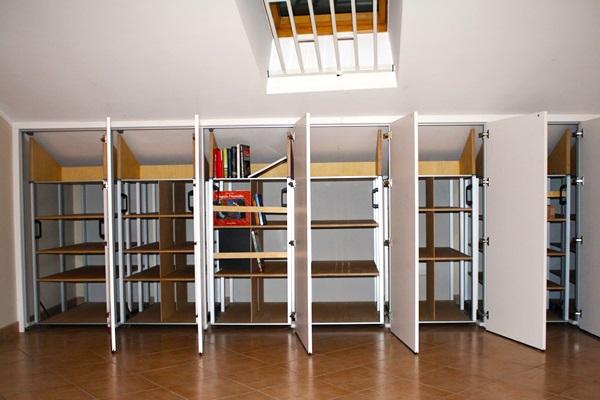 Marcaclac mobili evoluti libreria armadio mobile neanche - Mobile libreria a parete ...