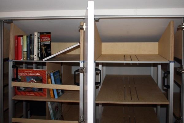 Libreria armadio Mobile su misura  Marcaclacsistema