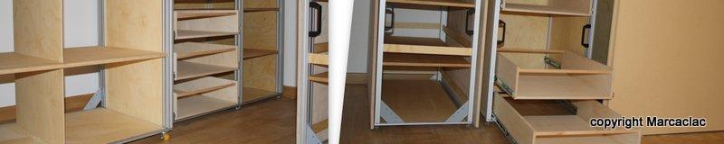 armadio mansarda su misura marcaclac