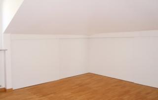 armadio bianco verniciato da Lino