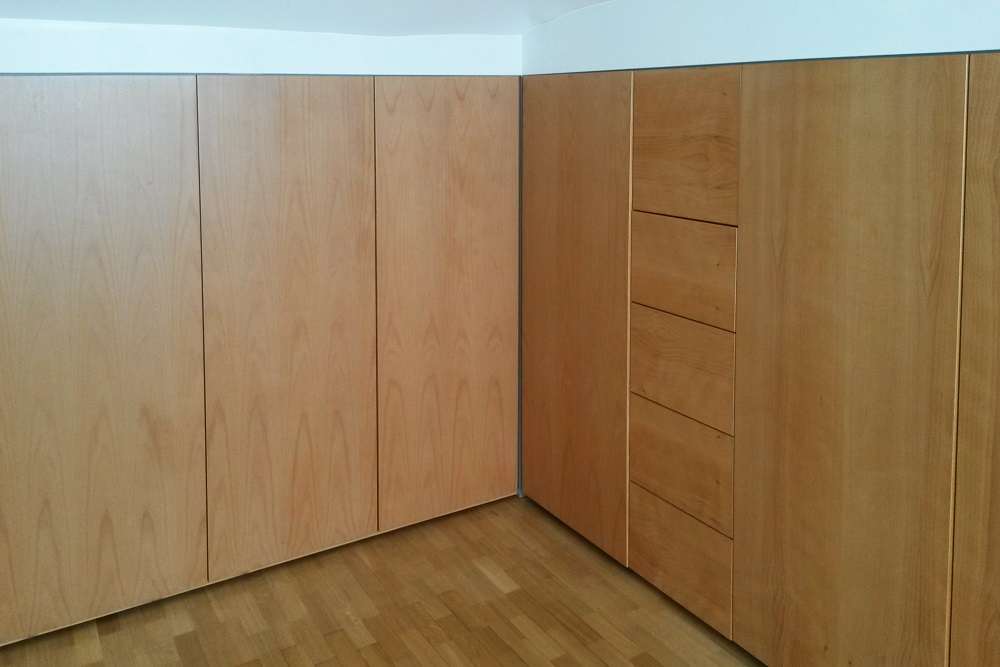 armadio pannelli multistrato pioppo
