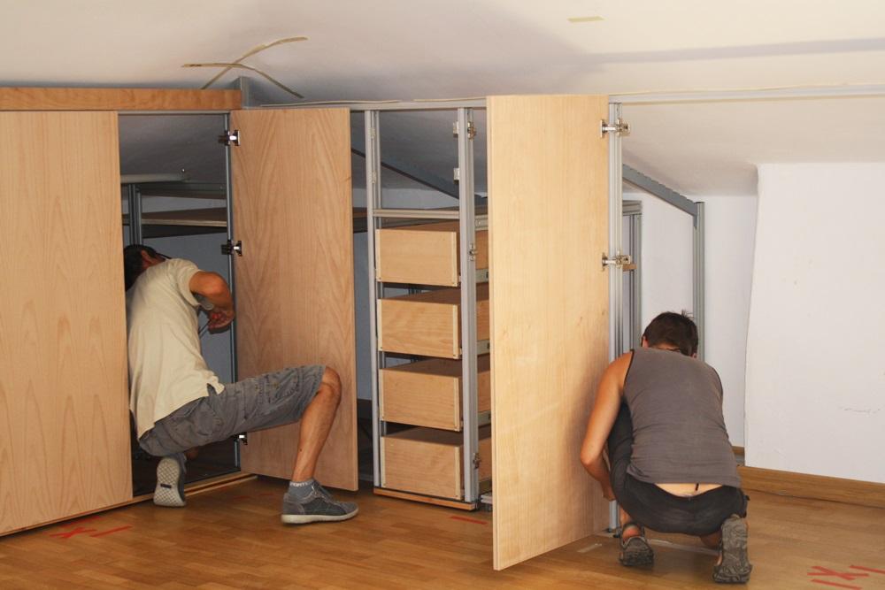 montaggio e regolazione ante armadio