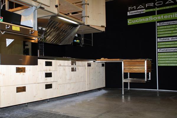 Cucina Sostenibile esposta in Fiera nel 2011