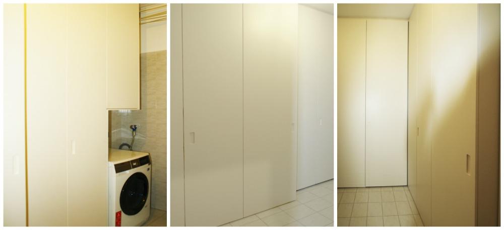 Marcaclac mobili evoluti armadio su misura per lavanderia marcaclacsistema - Mobili lavanderia su misura ...