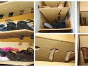 Scarpiera Su Misura per ogni tipo di scarpe