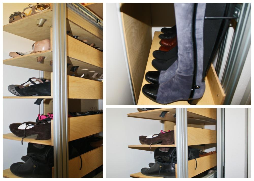 Marcaclac mobili evoluti scarpiera personalizzabile su misura - Mobile per scarpe ...
