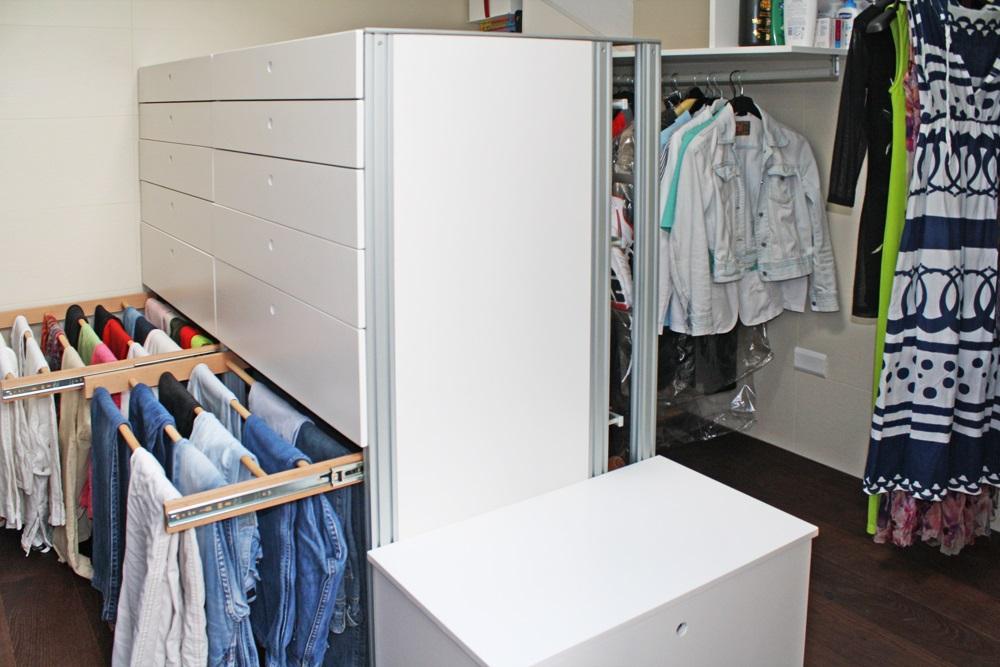 Marcaclac mobili evoluti cabina armadio - Cassettiera per cabina armadio ...