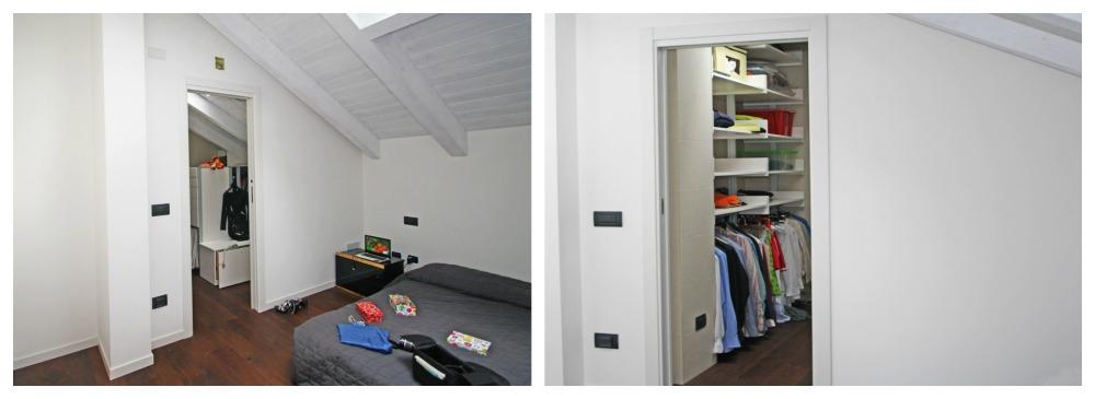 Marcaclac mobili Evoluti Cabina Armadio con affaccio su camera ...