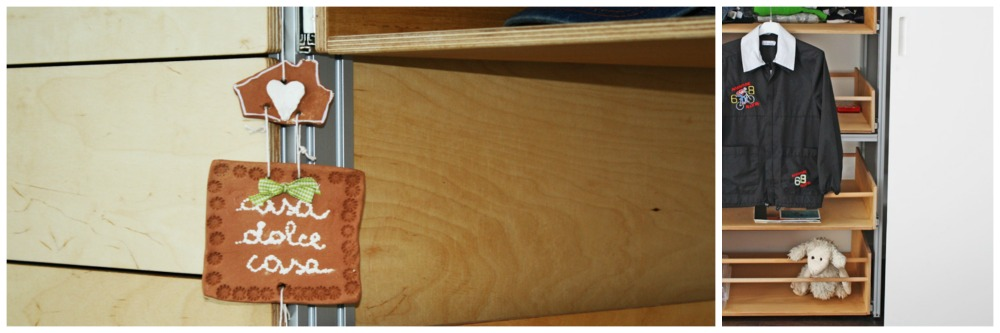 Un piccolo quadretto dentro l'armadio
