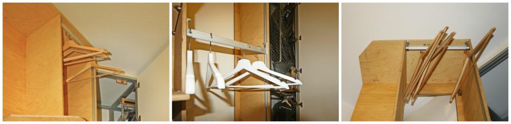 soluzione intelligente per armadio ad angolo
