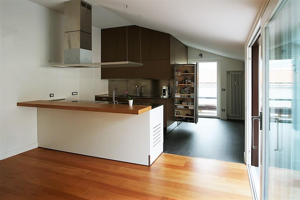 Ambientazione nello spazio della cucina