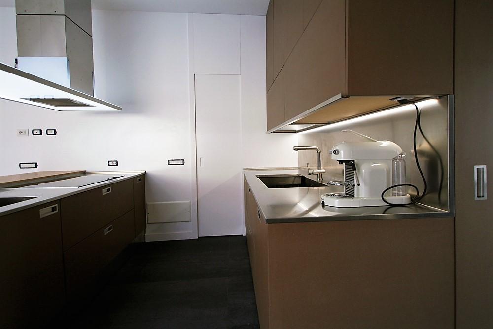 Marcaclac mobili evoluti cucina su misura - Piani di lavoro cucina materiali ...
