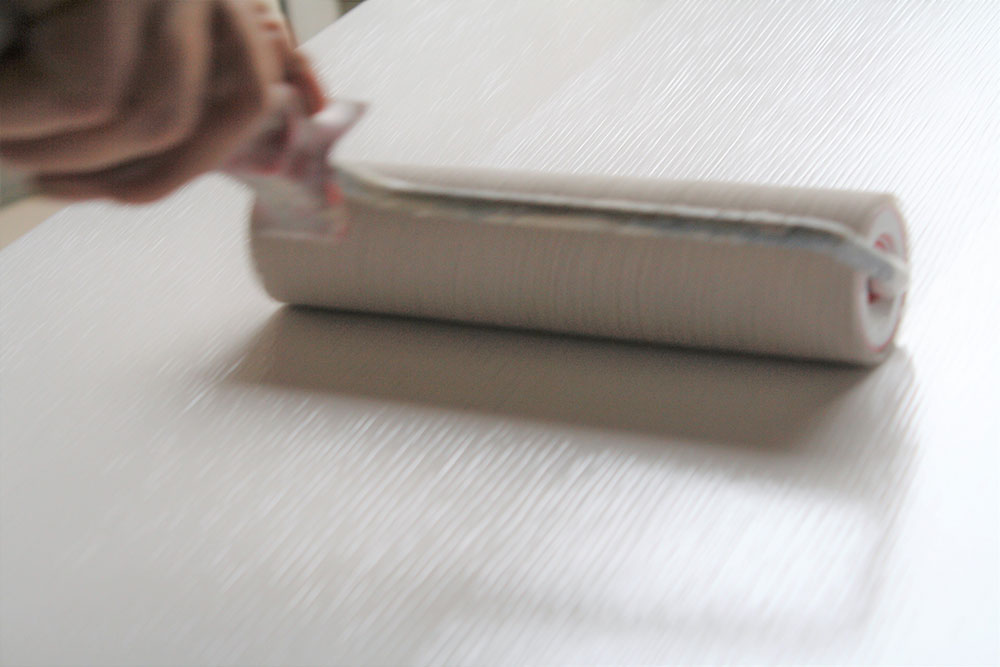 Armadio su misura pittura manuale