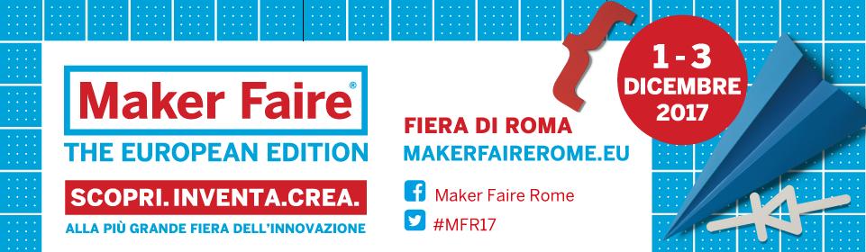 Banner di Maker Faire 2017