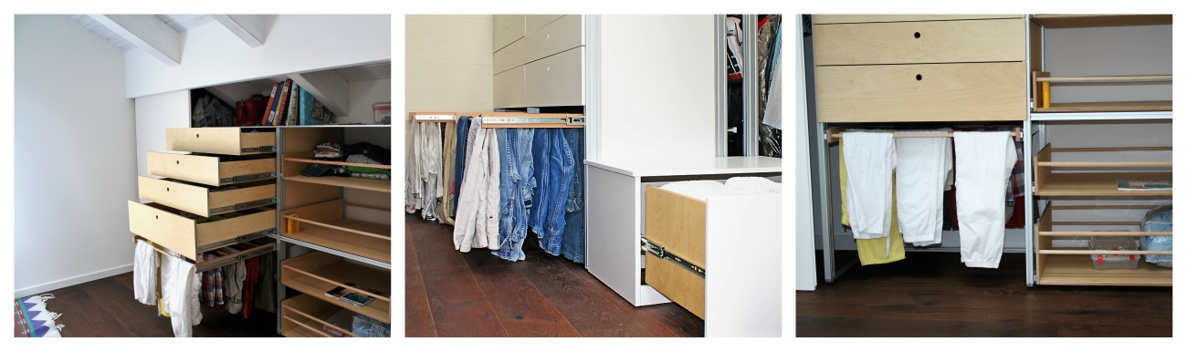 Portapantaloni per armadio