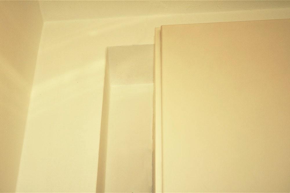 colonna a parete