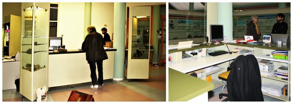 Attuale bureau del Museo del territorio di Riccione
