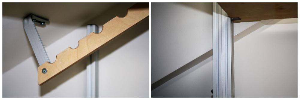 Struttura Marcaclac con barra appenderia inclinata