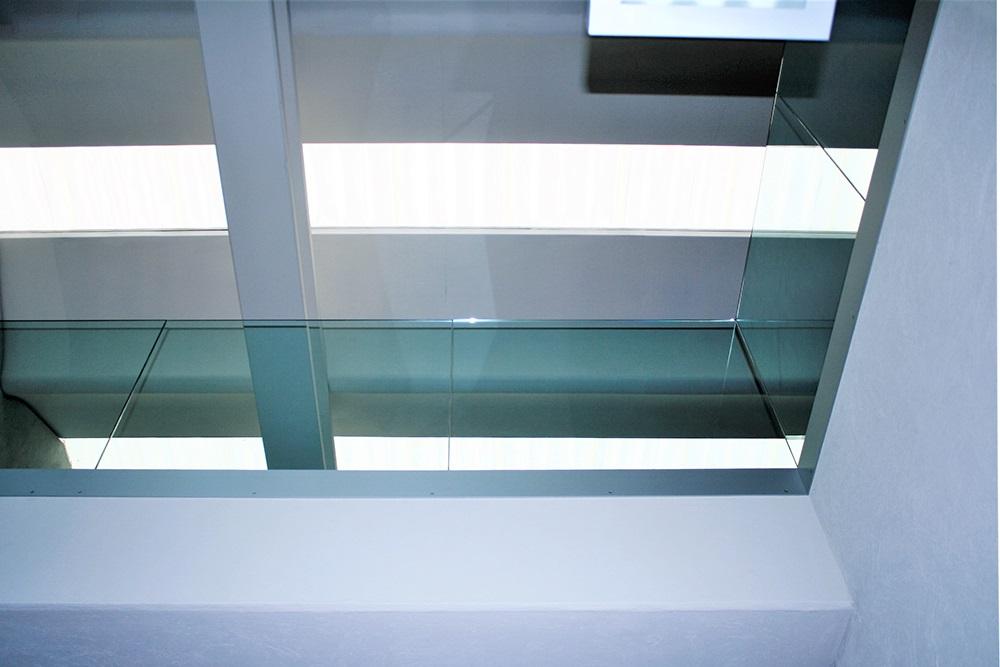 Passerella in cristallo. progetto Marcaclac