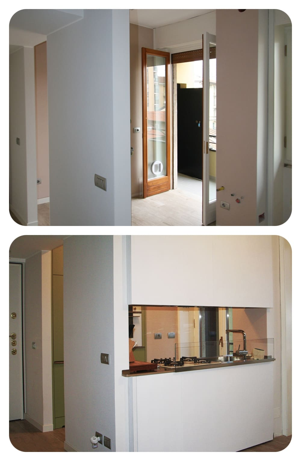 Grande Cucina in piccolo spazio