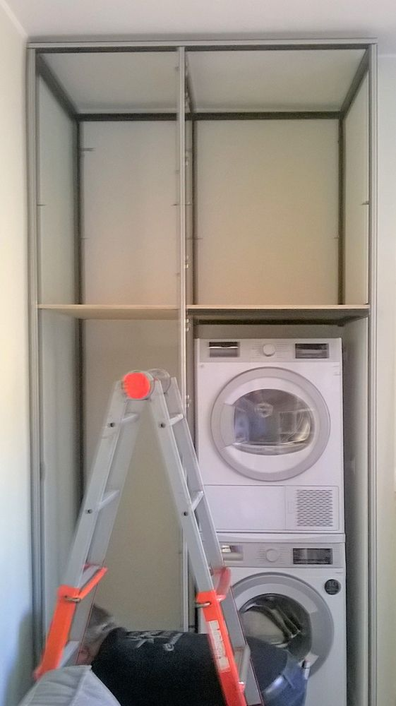 mobile lavanderia su misura