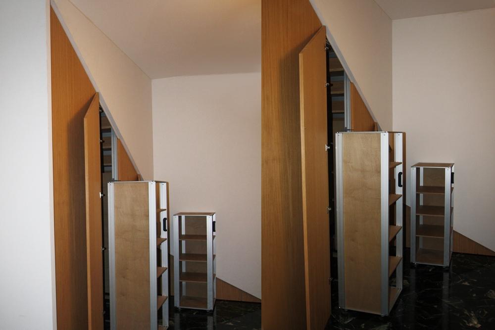 Scala Armadio marcaclac, interni