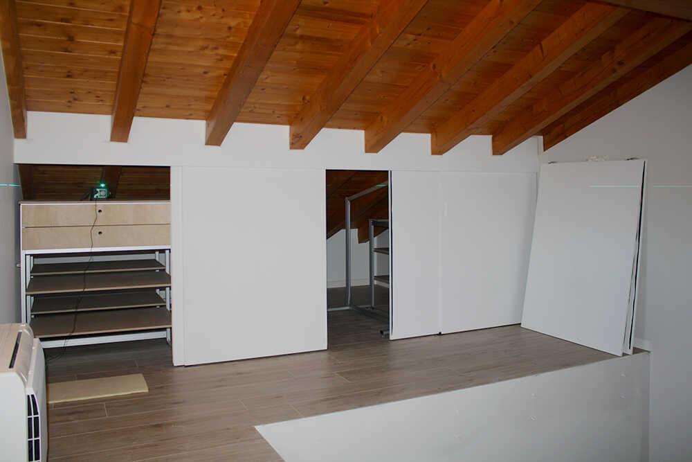 armadio a muro interni