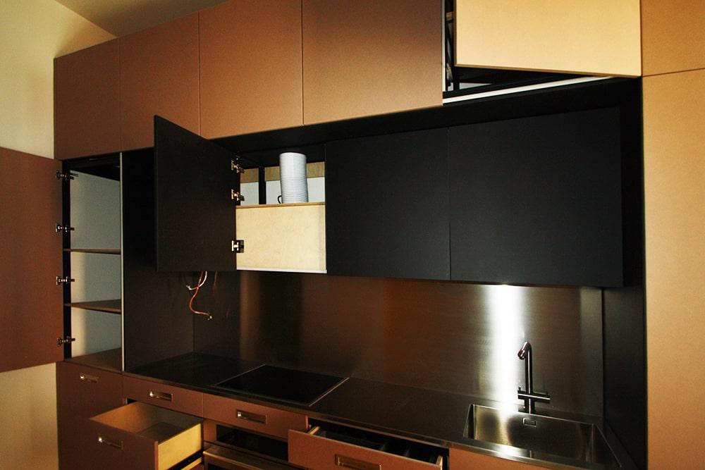 Cucina con struttura MarcaClac Sistema